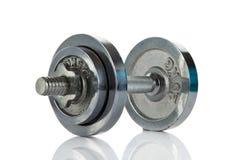 Peso isolado no conceito branco do objeto do gym do fundo Imagem de Stock Royalty Free