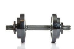 Peso isolado no objecrt branco do esporte do gym do fundo Foto de Stock