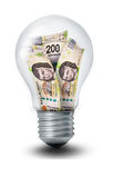 Peso Lightbulb Stock Images