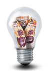 Peso Lightbulb Stock Image