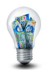 Peso Lightbulb Royalty Free Stock Photo