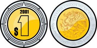Peso mexicano Foto de Stock Royalty Free