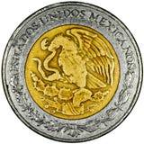 Peso mexicano Imagem de Stock