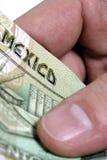 Peso mexicano Imagen de archivo libre de regalías