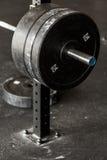Peso pesado do barbell Imagens de Stock Royalty Free