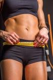 Peso sano después de una dieta Fotos de archivo