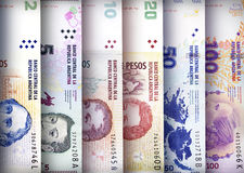 Peso Wall Background Stock Photography
