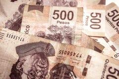 500 pesos Royaltyfria Bilder