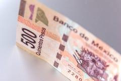 500 pesos Arkivfoto