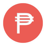 Pesos currency symbol icon Royalty Free Stock Image