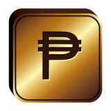 Pesos currency symbol icon Stock Photography