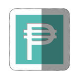 Pesos currency symbol icon Royalty Free Stock Images