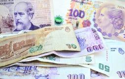 Pesos de Argentina Fotografia de Stock
