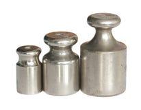 Pesos de la calibración. Imagen de archivo libre de regalías