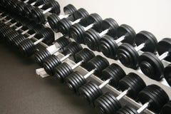 Pesos do equipamento do exercício Foto de Stock