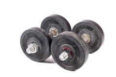 Pesos do Gym Fotografia de Stock Royalty Free