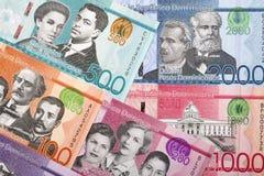 Pesos dominicains un fond