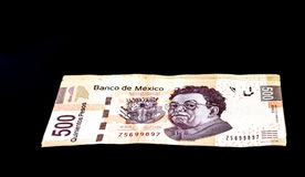 Pesos för mexikan 500 Arkivbilder