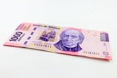 Pesos mexicanos Fotos de Stock