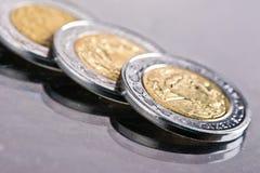 Pesos mexicanos Imagenes de archivo