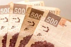 500 pesos Stock Photos