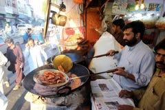 Valle del golpe violento, Paquistán Imagen de archivo libre de regalías