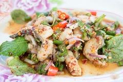 Pesque o alimento do assado, peixe cozinhado, alimento do assado Fotografia de Stock