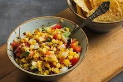 Pesque peixes e o arroz indianos do estilo de Biryani com masala picante fotos de stock