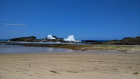 Pesquera plaża Isabela Puerto Rico obraz stock