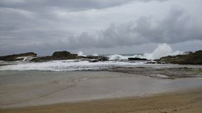 Pesquera plaża Isabela Puerto Rico zdjęcia stock