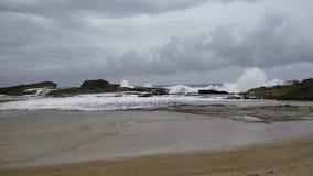 Pesquera strand Isabela Puerto Rico arkivfoton
