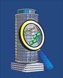 Pesquisa de mercado Ilustração Stock