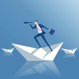 Pesquisa do conceito do negócio ilustração stock