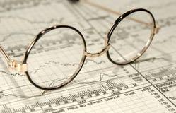 Pesquisa do investimento Fotografia de Stock