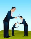 Pesquisa dos homens de negócios Imagens de Stock