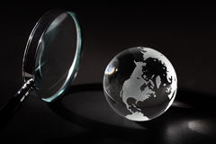 Pesquisa global imagem de stock royalty free