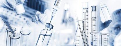 Pesquisa, medicina, farmácia e cuidados médicos Imagens de Stock