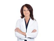 Pesquisador fêmea do cientista do farmacêutico do doutor Imagens de Stock