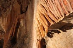 Pesrpective de stalagmite dans Jenolan foudroie le ` Photo libre de droits