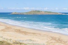 Pessegueiro island in Porto Covo Stock Photography