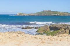 Pessegueiro island in Porto Covo Stock Image