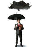 Pessimista no negócio Fotografia de Stock Royalty Free