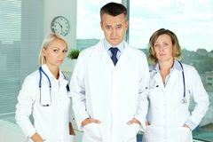 Pessimistic doctors Royalty Free Stock Photo