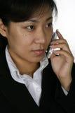 Pessoa asiática da sustentação imagem de stock royalty free