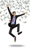 Pessoa bem sucedida Imagem de Stock Royalty Free
