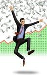 Pessoa bem sucedida Fotografia de Stock