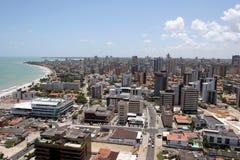 Pessoa de Joao, ville au Brésil photographie stock libre de droits