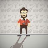 Pessoa do moderno, ilustração do vetor Fotografia de Stock