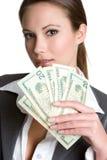 Pessoa do negócio de dinheiro imagens de stock royalty free