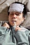 Pessoa doente Fotografia de Stock Royalty Free